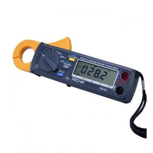 Prova Cm-02 Ac  Dc 200 Amp Hvac Clamp Meter