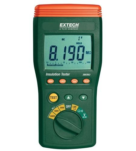 High Voltage Tester : Extech digital high voltage insulation tester my