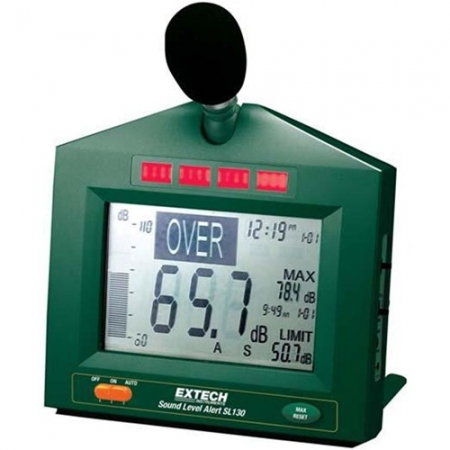 Sound Level Meter with Alert