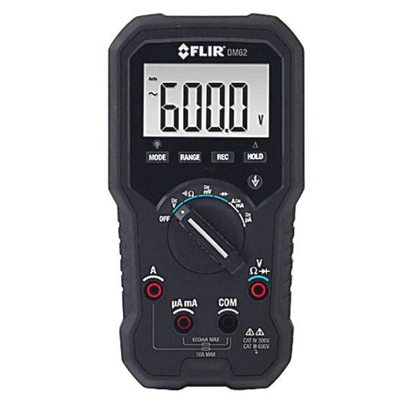 Flir Dm62 Trms Digital Multimeter My Meter