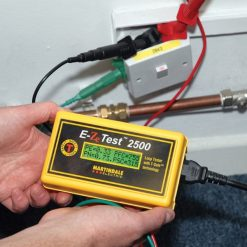 Non Trip Earth Loop Tester in use