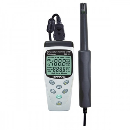 Tenmars TM-182 Temperature, Humidity Meter