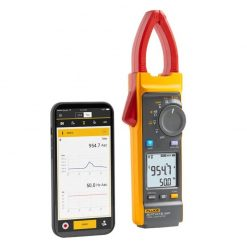 Fluke 393 FC CAT III 1500 V True-rms Clamp Meter with mobile phone