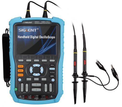 Siglent Handheld Digital Oscilloscopes SHS800x with probs