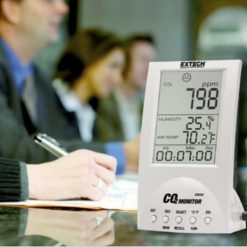 Extech CO220 in use